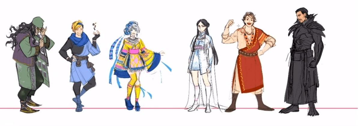 ファンタジー衣装デザインのメイキング。キャラクターを引き立てるデザインの基本とアイデアの出し方